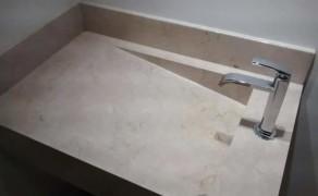 Lavatório Esculpido
